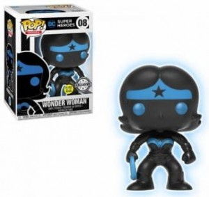 Figurka Justice League POP! Wonder Woman Silhouette GITD Exclusive