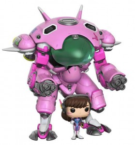 Figurka Overwatch POP! D. VA with Meka 15 cm