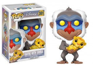 Figurka Disney Lion King POP! Rafiki with Simba