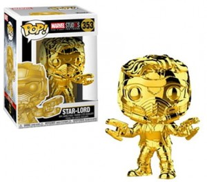 Figurka Marvel Studios 10 POP! Star-Lord Chrome