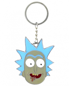 Brelok Rick and Morty Rick metalowy