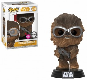 Figurka Star Wars: Solo POP! Chewbacca Flocked Exclusive