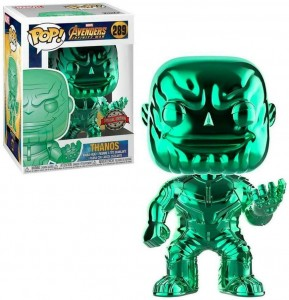Figurka Avengers Funko POP! Thanos Green Chrome Exclusive