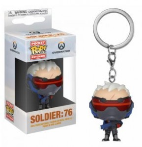 Brelok Overwatch POP! Soldier 76