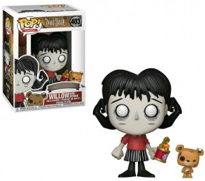 Figurka Don't Starve POP! Willow with Bernie