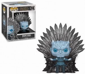 Figurka Gra o Tron POP! Night King Iron Throne