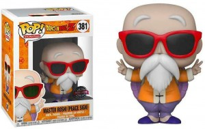 Figurka Dragon Ball Z POP! Master Roshi Peace Sign Special Edition Exclusive