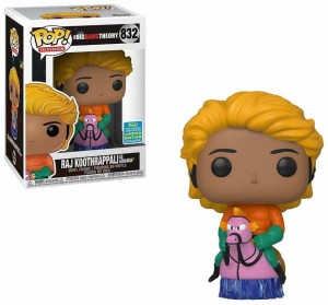 Figurka Big Bang Theory POP! Raj Koothrappali as Aquaman Limited Edition Exclusive