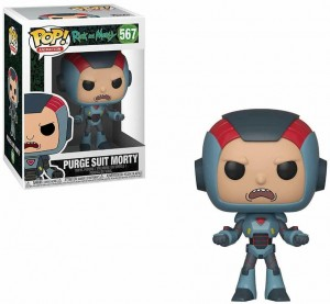 Figurka Rick and Morty POP! Purge Suit Morty