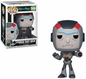 Figurka Rick and Morty POP! Purge Suit Rick