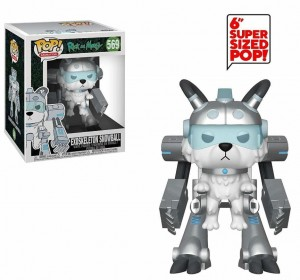 Figurka Rick and Morty POP! Exoskeleton Snowball