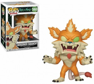 Figurka Rick and Morty POP! Berseker Squanchy