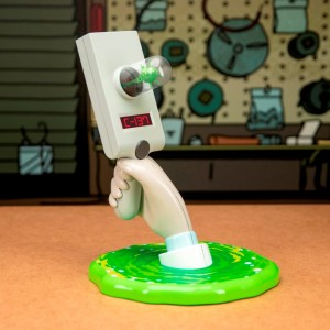 Lampka  Rick and Morty Portal Gun 30 cm