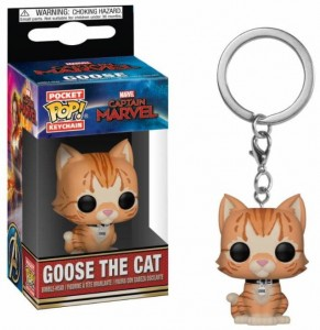 Brelok Marvel Funko POP! Goose The Cat