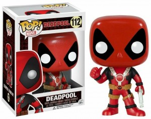 Figurka Deadpool Marvel POP! Deadpool Thumb UP