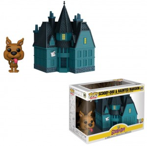 Figurka Scooby Doo POP! Scooby & Haunted Mansion