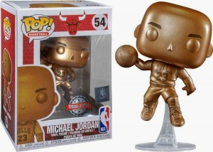 Figurka Michael Jordan Bronze Special Edition Funko POP! Chicago Bulls NBA