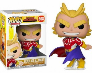 Figurka My Hero Academia Funko POP! Silver Age All Might