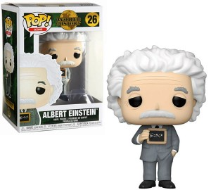 Figurka Albert Einstein Funko POP!
