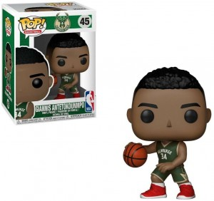Figurka Giannis Antetokounmpo Funko POP! NBA Milwaukee Bucks