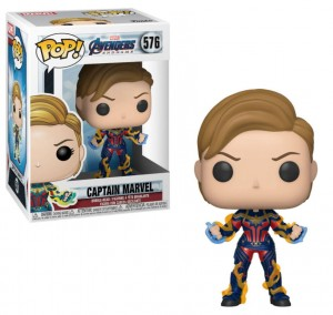 Figurka Avengers Endgame Funko POP! Kapitan Marvel New Hair