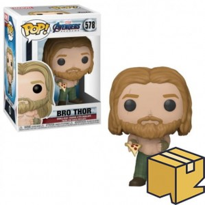 Figurka Avengers Endgame Funko POP! Bro Thor with Pizza *