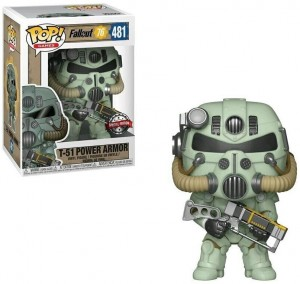 Figurka Fallout POP! T-51 Green Power Armor Special Edition