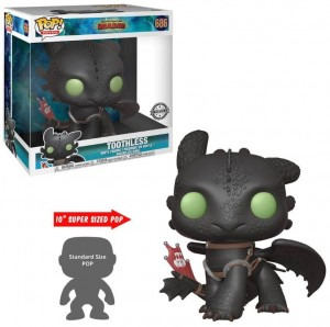 Figurka How To Train Your Dragon POP! Toothless Szczerbatek 25 cm