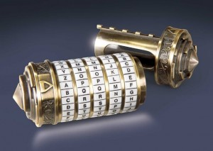 Replika Cryptex Kod da Vinci Noble Collection