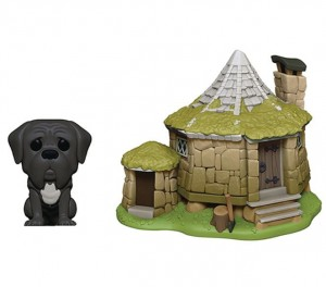 Figurka Harry Potter POP! Town Chatka Hagrida i Kieł