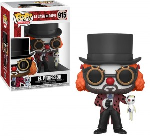 Figurka Dom z Papieru POP! El Professor Clown