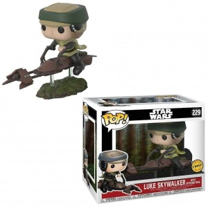 Figurka Star Wars POP! Luke Skywalker with Speeder Bike CHASE