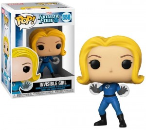 Figurka Marvel Fantastic Four POP! Invisible Girl