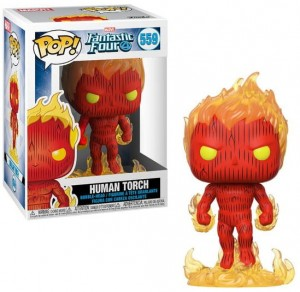 Figurka Marvel Fantastic Four POP! Human Torch