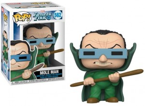 Figurka Marvel Fantastic Four POP! Mole Man