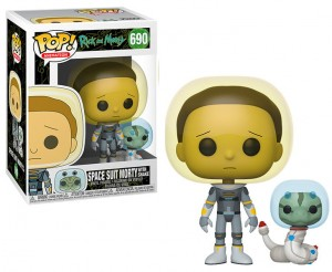 Figurka Rick and Morty POP! Space Suit Morty with Snake