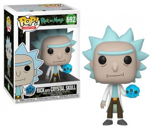 Figurka Rick and Morty POP! Rick with Crystal Skull