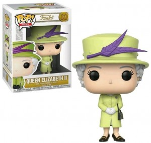 Figurka Royal Family Funko POP! Queen Elizabeth II Green Outfit
