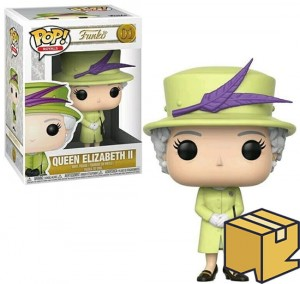 Figurka Royal Family Funko POP! Queen Elizabeth II Green Outfit *