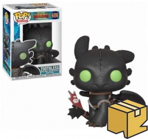 Figurka How To Train Your Dragon POP! Toothless Szczerbatek *