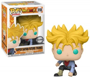 Figurka Dragon Ball Z POP! Super Saiyan Future Trunks Exclusive