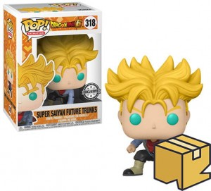 Figurka Dragon Ball Z POP! Super Saiyan Future Trunks Exclusive *