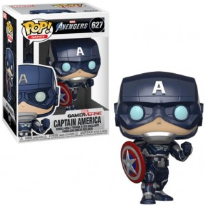 Figurka Avengers Game POP! Kapitan Ameryka