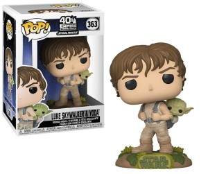 Figurka Star Wars Funko POP! Luke & Yoda