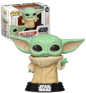 Figurka Star Wars The Mandalorian POP! Baby Yoda