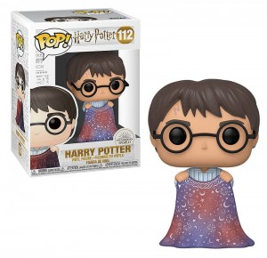 Figurka Harry Potter POP! Harry Z Peleryną Niewidką