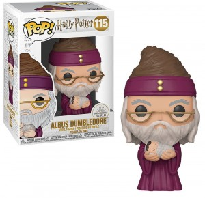 Figurka Harry Potter POP! Dumbledore z Małym Harrym