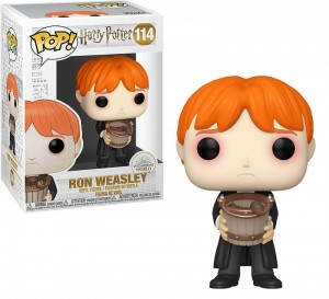 Figurka Harry Potter POP! Ron z Wiaderkiem Ślimaków