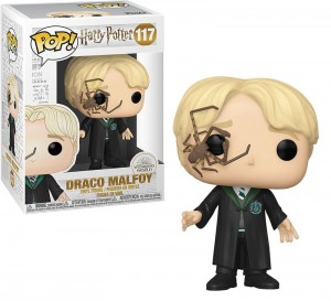 Figurka Harry Potter POP! Draco Malfoy z Pająkiem