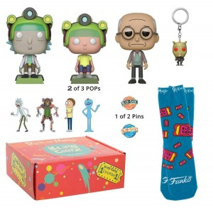 Pudełko Funko POP! Mystery Box Rick and Morty